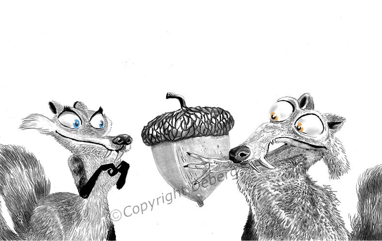 Scrat by Deberg